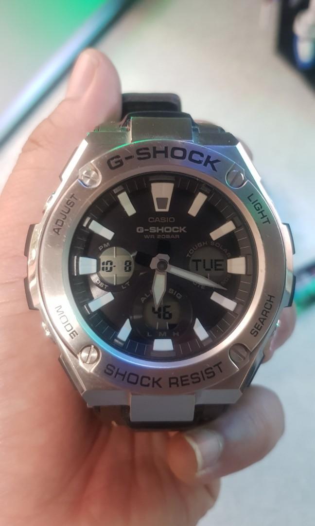 Gshock GST S130L 1ADR Tough Solar
