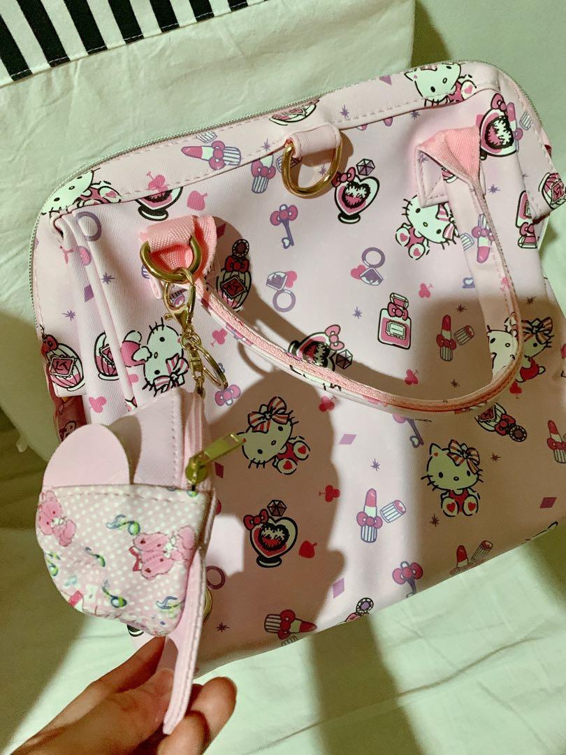 全新Hello Kitty後背肩背手提包