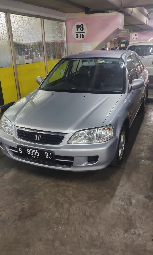 Honda City type z 2001 matic km 75rb asli service record