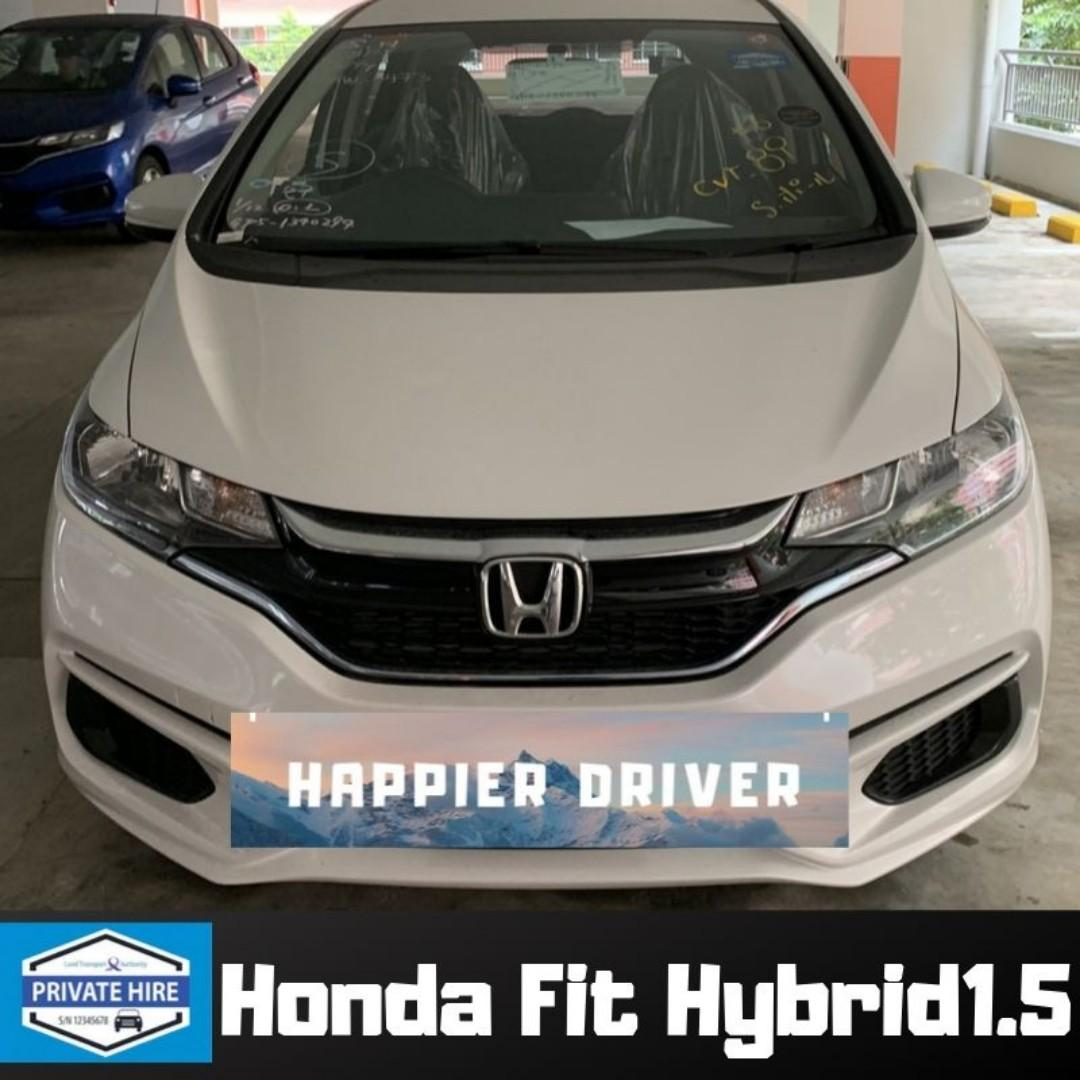Honda Fit Hybrid / Petrol Car Rental PHV Hybrid