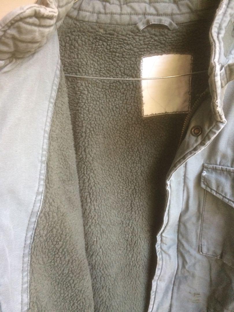 Jaket M65 no Brand inner Polar