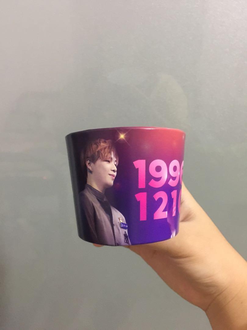 WTS FASTT Kang Daniel Cupholder from Korea Cafe Event