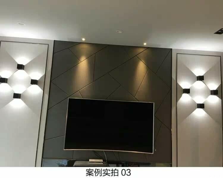 🌇防水户外led壁燈 個性走廊通道壁燈 電視背景牆裝飾壁燈 美觀居家不設限,全看您的構思
