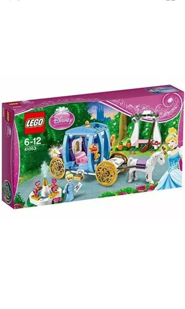 LEGO Disney Princess 41053 Cinderella's Dream Carriage NEW
