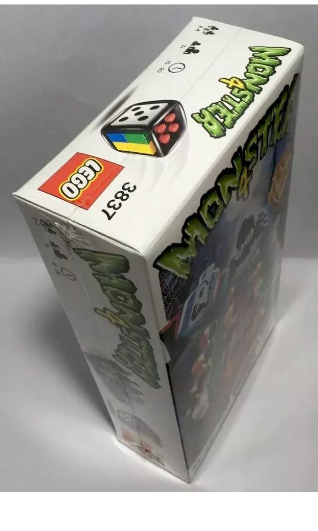 LEGO Monster 4 brick built board game NEW - Halloween!