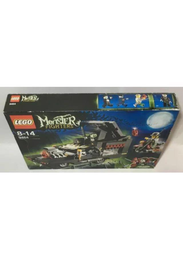 LEGO Monster Fighters 9464 Vampyre Hearse - Great for Halloween! NEW