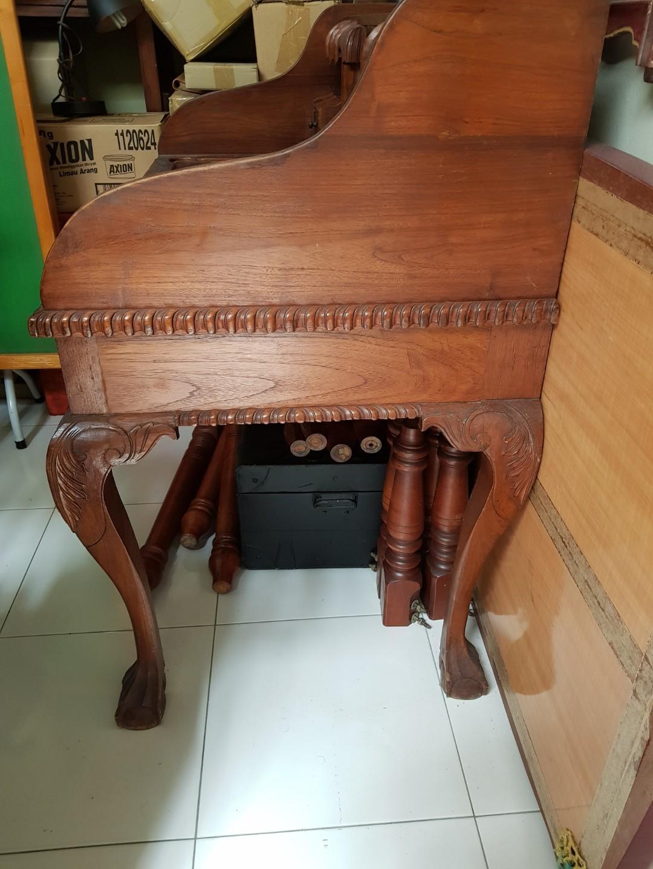 Lion claw jati desk