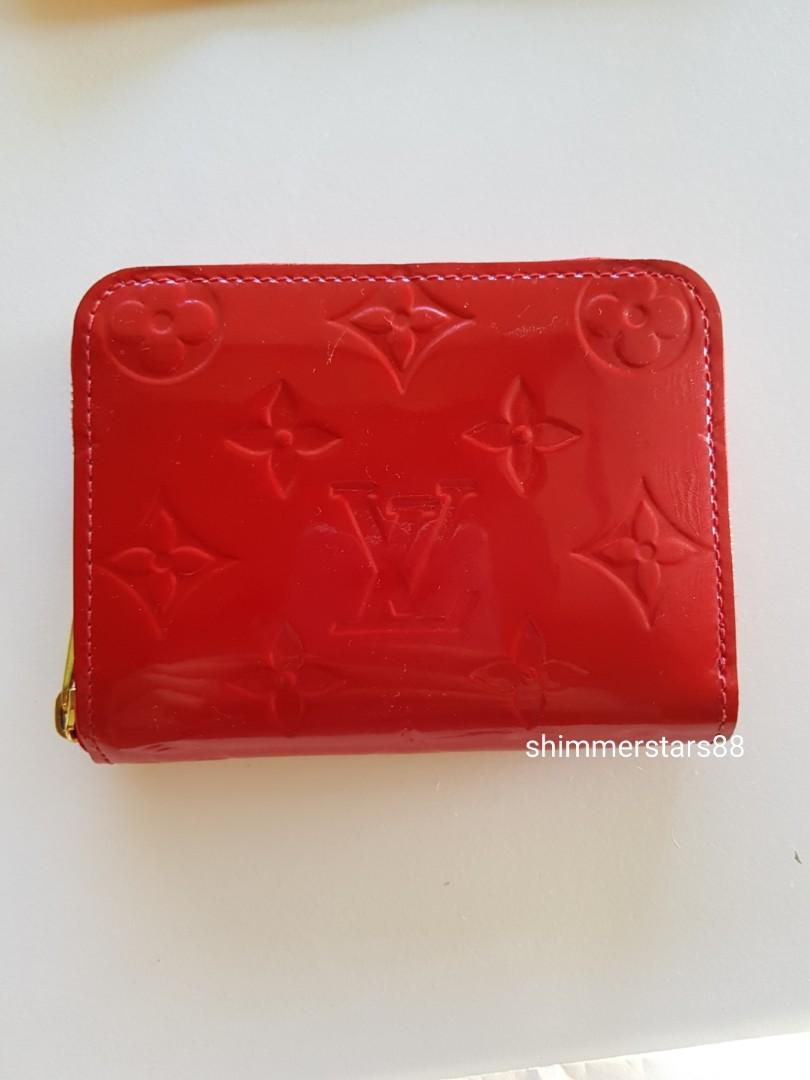 LOUIS VUITTON ZIPPY COIN CARD PURSE, includes receipt
