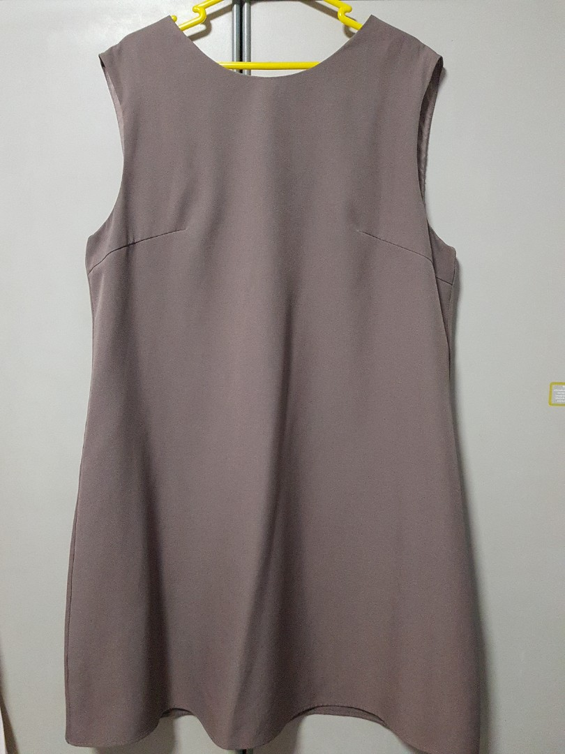 Love Bonito Grey Sleeveless Dress