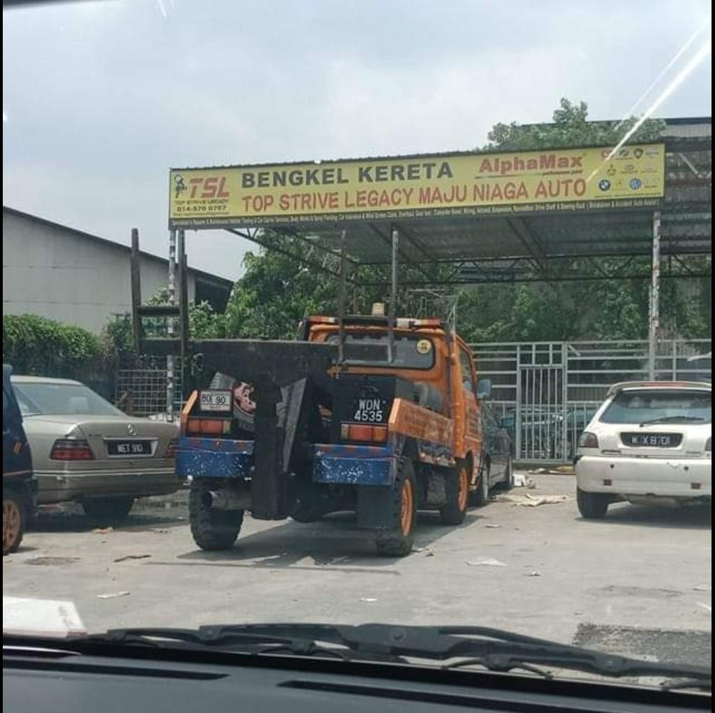 Lower arm perodua myvi heavy duty