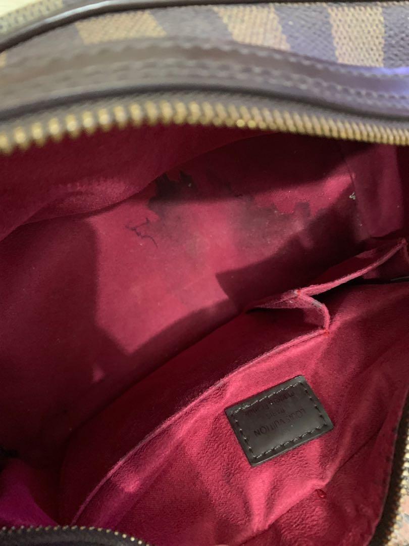 LV tas authentic full leather 28 cm x 16 x 16 mulus minus noda bagian dalam bag spa hilang 90% OK bonus bag charm muraahh