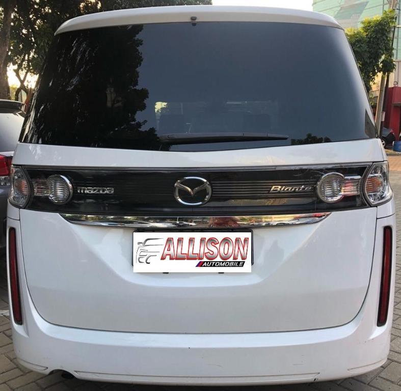Mazda Biante 2.0 AT 2012 Putih, Kondisi Ok, Dp 53,9 Jt, NO Pol Ganjil