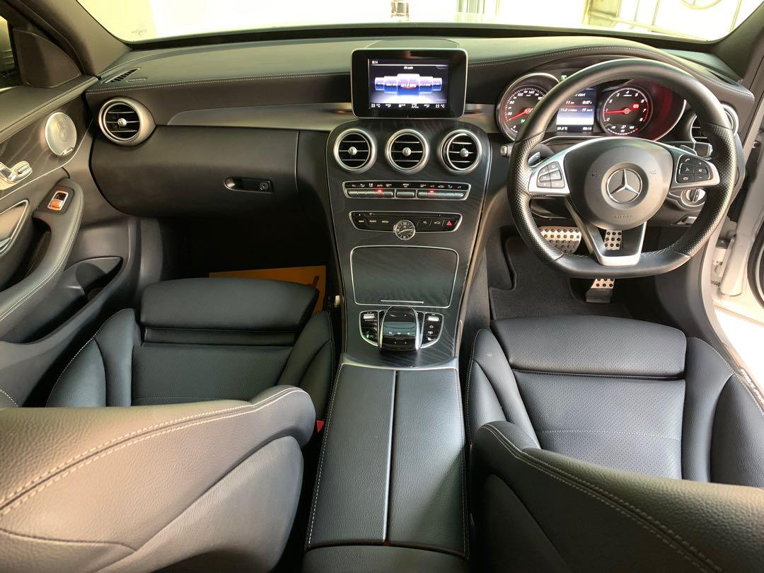 Mercedes Benz C300 AMG Line in excellent condition
