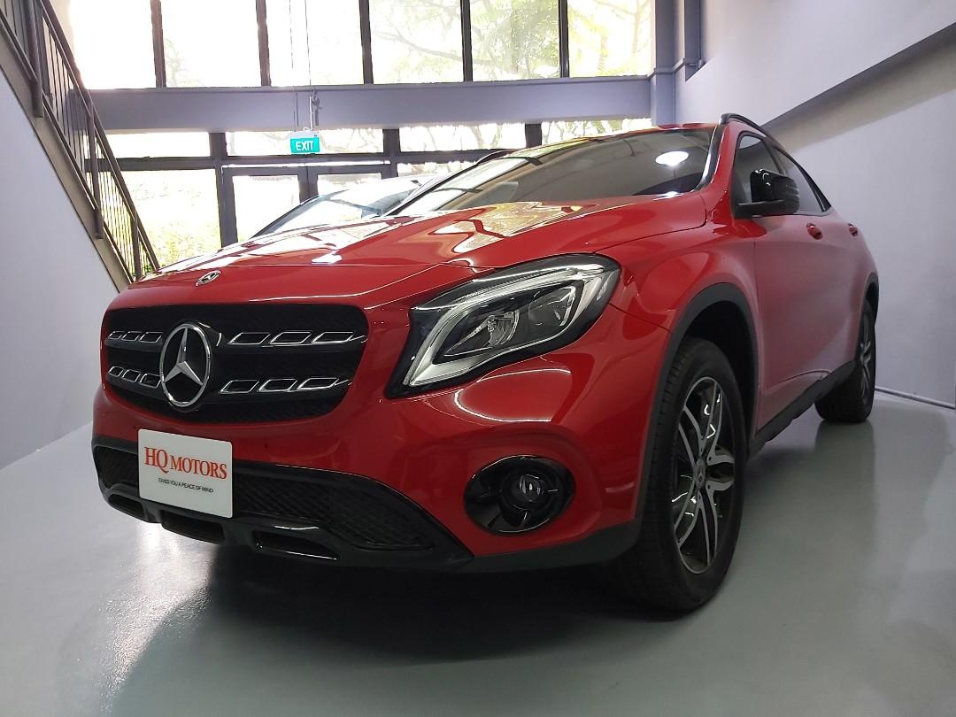 Mercedes GLA 180 Edition