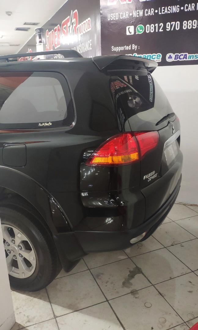 Mitsubishi pajero dakkar 2,5 2012 matic diesel mulus