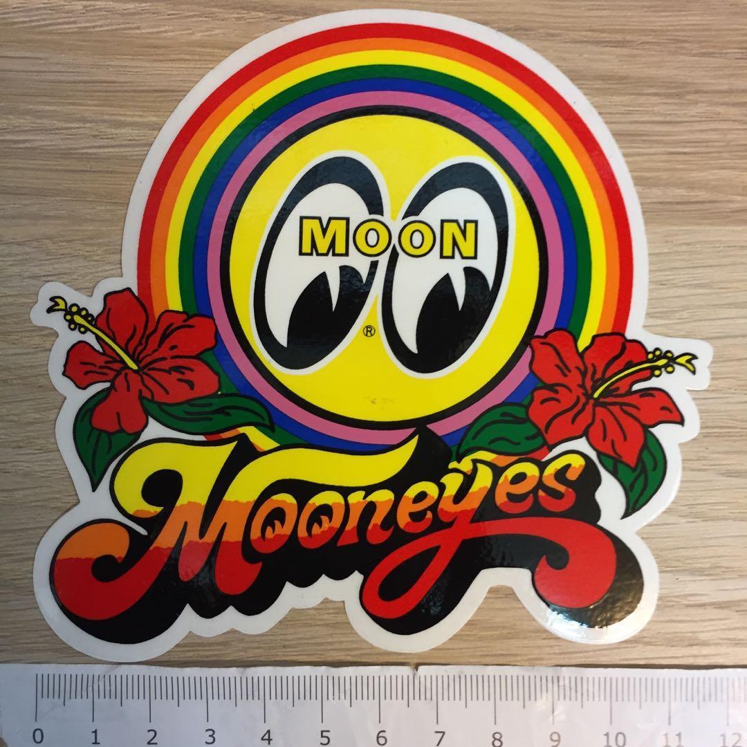 Mooneyes Rainbow Sticker
