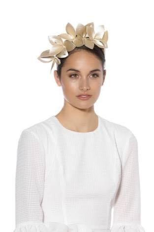 Morgan Taylor fascinator