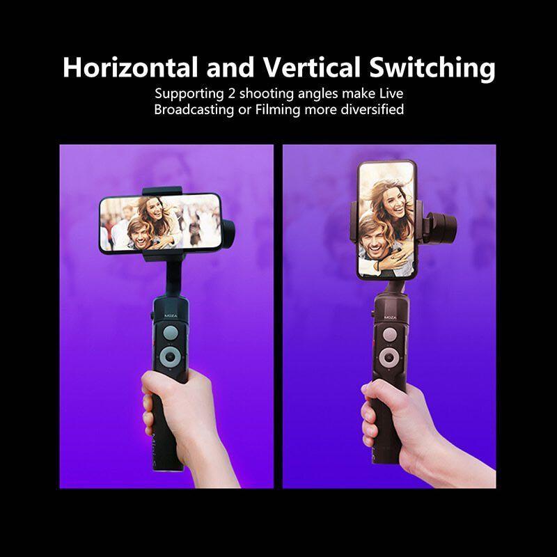 Moza Mini S Foldable 3-Axis Gimbal Vlog Stabilizer