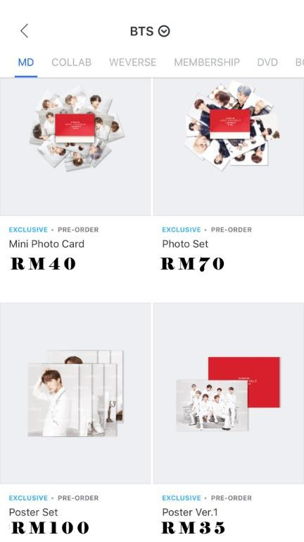 [MY GO *NO EMS] BTS SPEAK YOURSELF FINAL TOUR MERCH