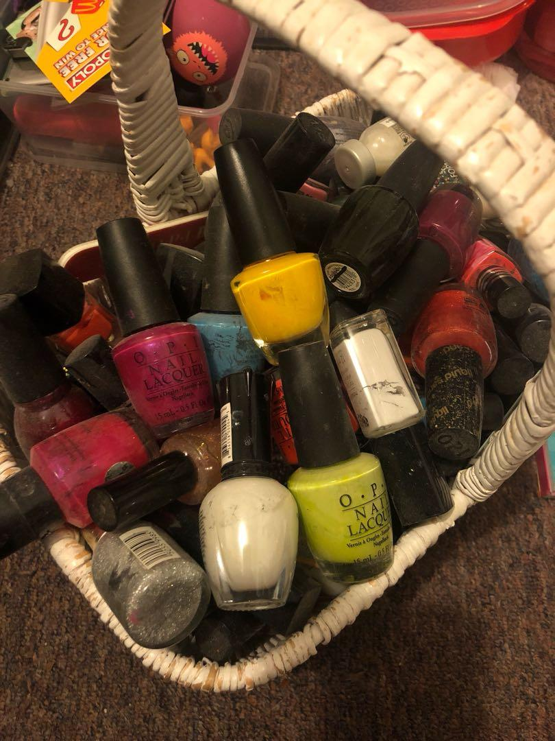 Nail polish bundle (30+ polishes OPI and other brands)