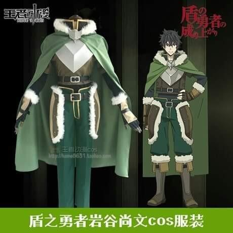 🛡NAOFUMI IWATANI COSPLAY SET THE RISING OF THE SHIELD HERO ANIME MEN COSTUME🛡