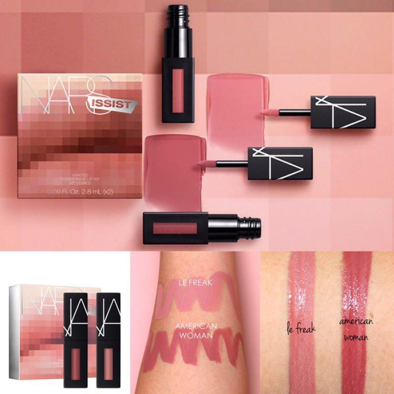 NARS 唇釉 口紅 lipsticks