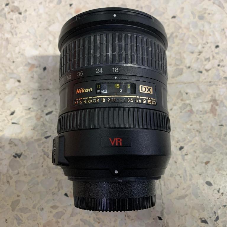 Nikon Nikkor AF-S DX 18-200mm f/3.5-5.6G ED VR II Zoom Lens for Nikon Camera