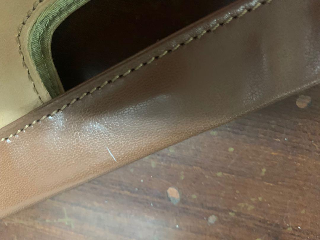 美國知名品牌Nine West 100%真皮手拿包 復古造型  #五折清衣櫃