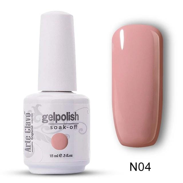 Nude Gel Nail Polish 15ml | Color Code N04 | Brand New Ready Stocks | Sale