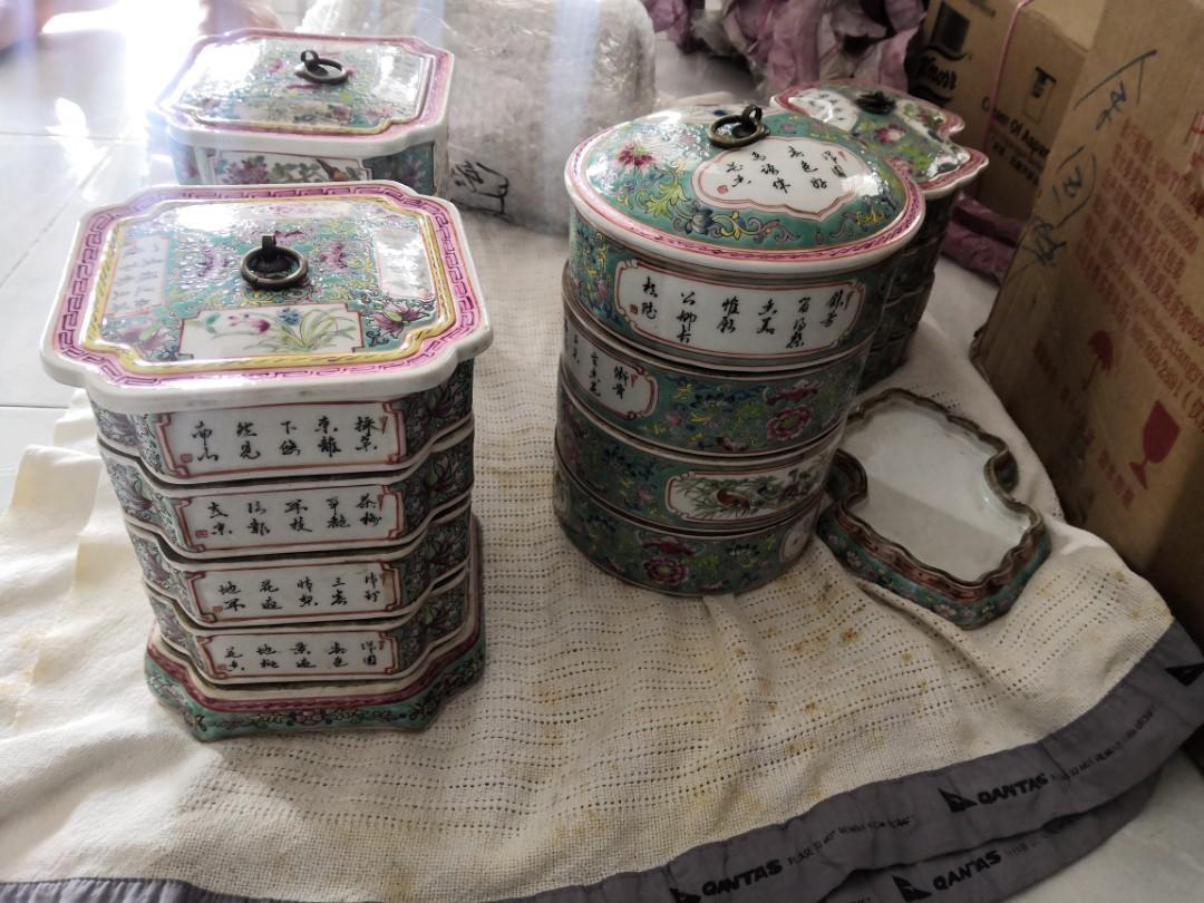 Nyonya ware bekas letak barang rare