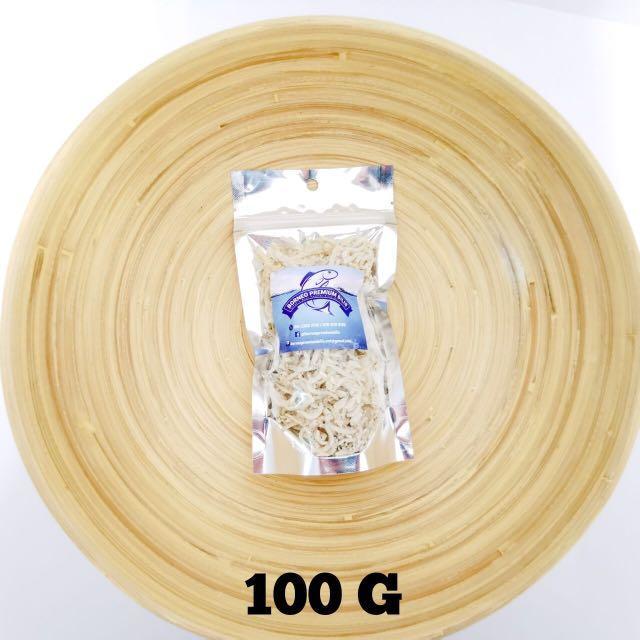 ORIGINAL IKAN BILIS MATA BIRU SABAH (PREMIUM) 100gram