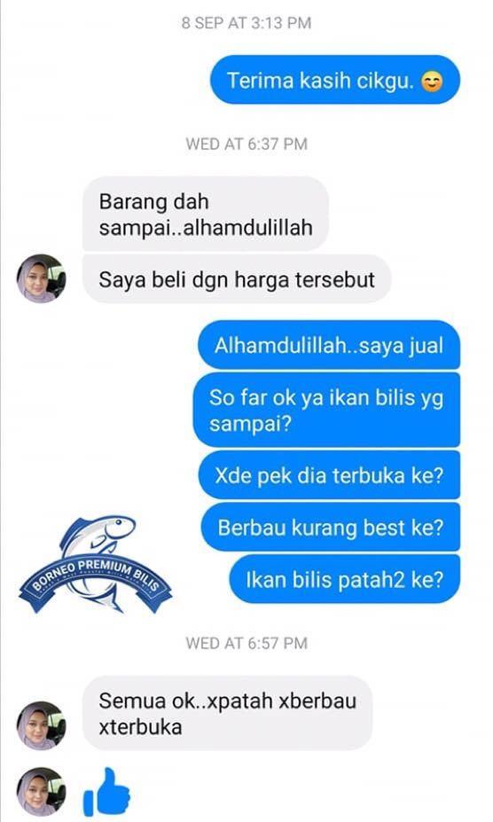 Original Ikan Bilis Mata Biru Sabah 1Kg (Premium)