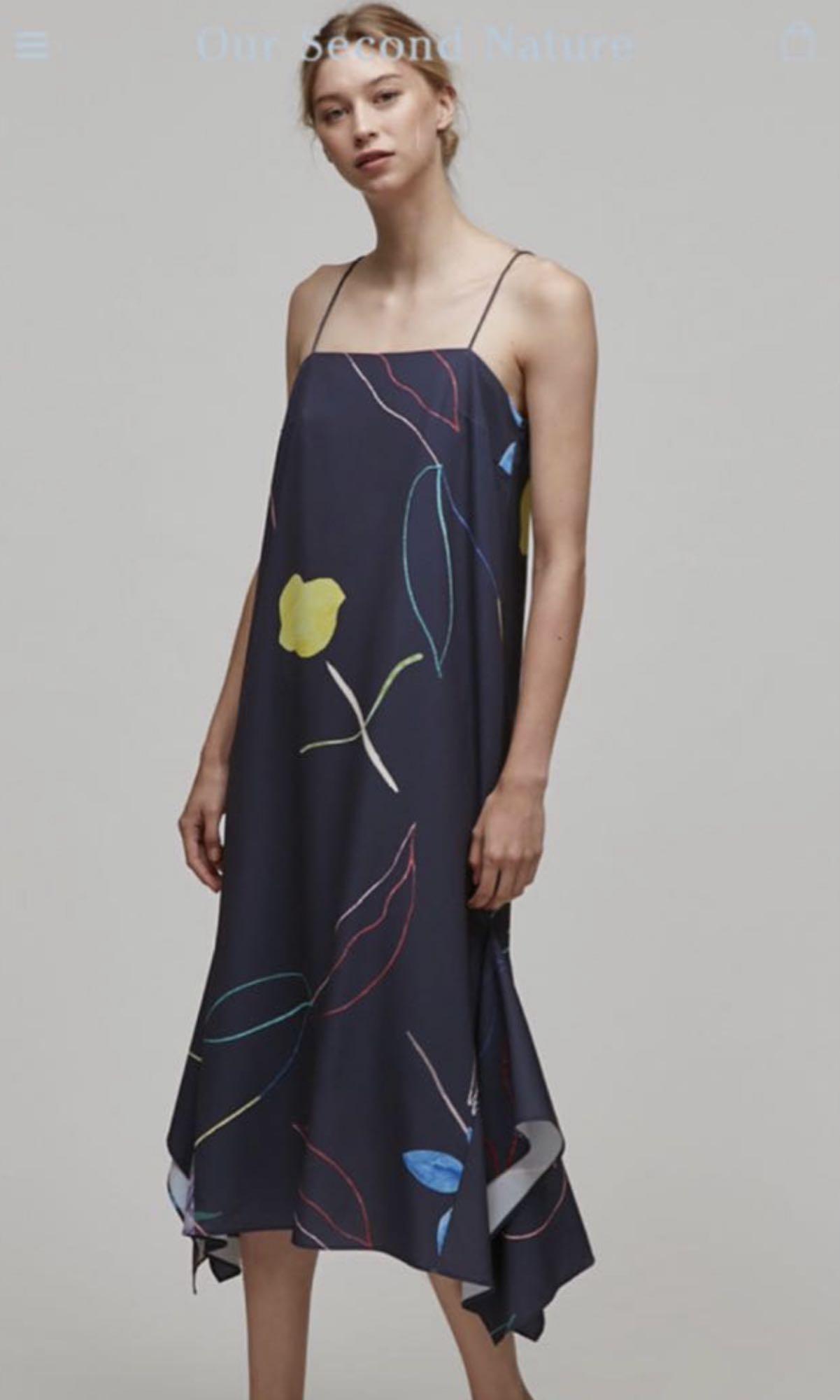 OSN Sketch Handkerchief Dress