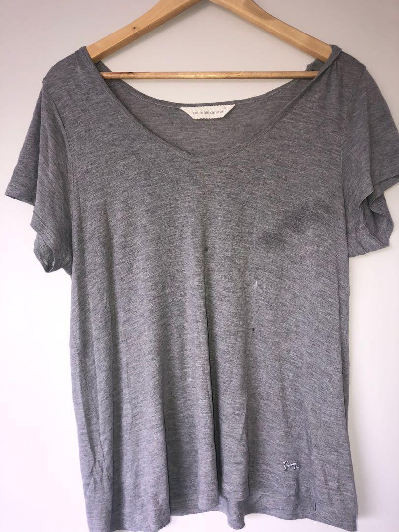 Peter Alexander Grey shirt