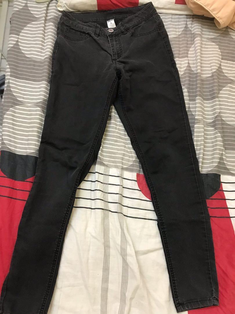 Plain Black Jeans