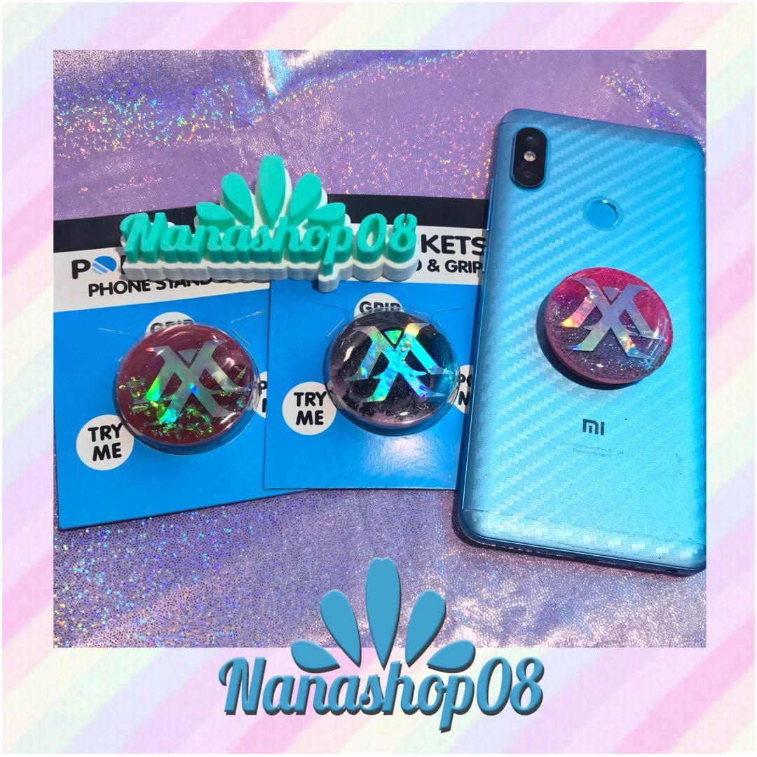Popsocket / Griptok Hologram Glitter Kpop Monsta X