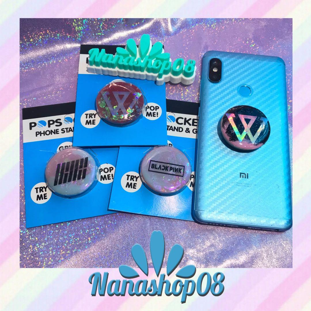 Popsocket / Griptok Hologram Glitter Kpop Winner iKon Blackpink