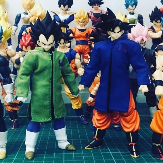[READY STOCK] Custom Snow Suit for SHF Dragon Ball Son Goku Vegeta