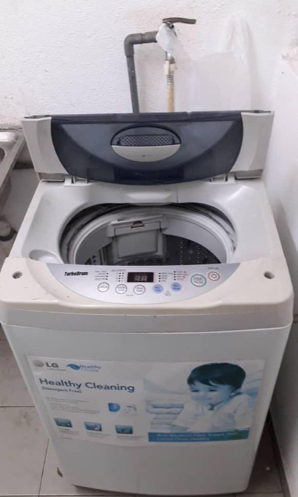 Repair peti sejk dan mesin basuh