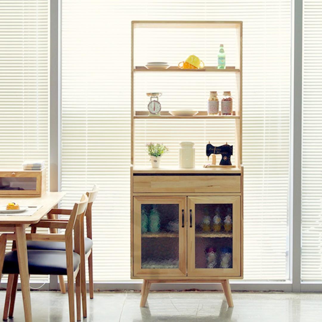 Ruri Ash Display Shelf Cabinet