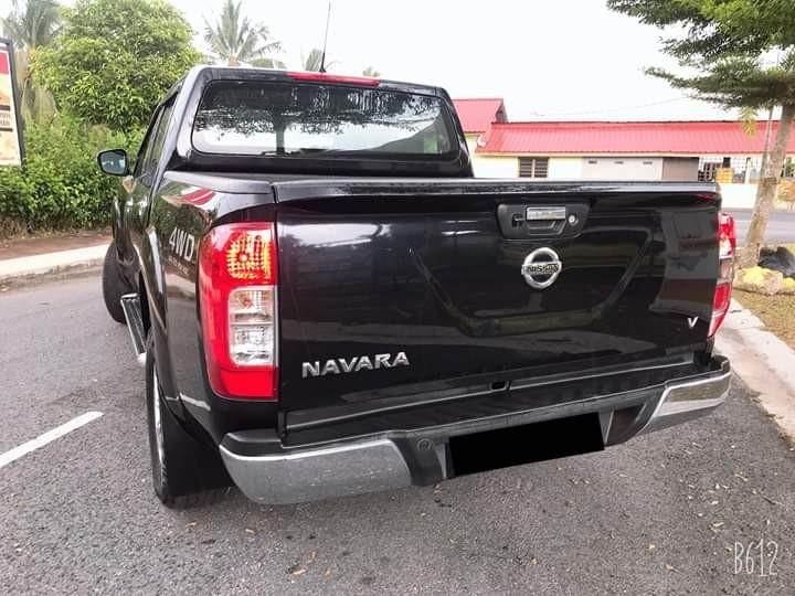 Sambung Bayar Nissan Navara 2017