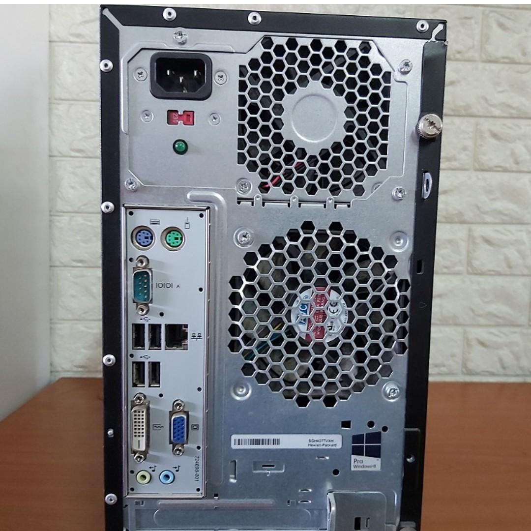 [Speedy SSD i3 Gen4 CPU] HP Prodesk 400 G1 MT: 240GB SSD (Core i3 Desktop)