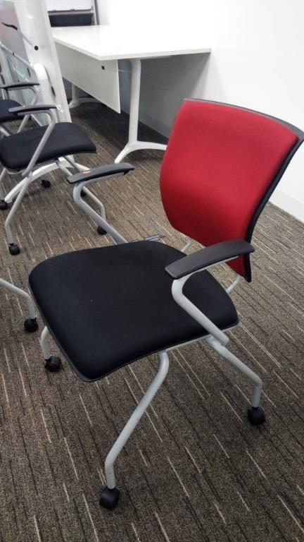 Bristol Kleiber Stacking Chair with roller