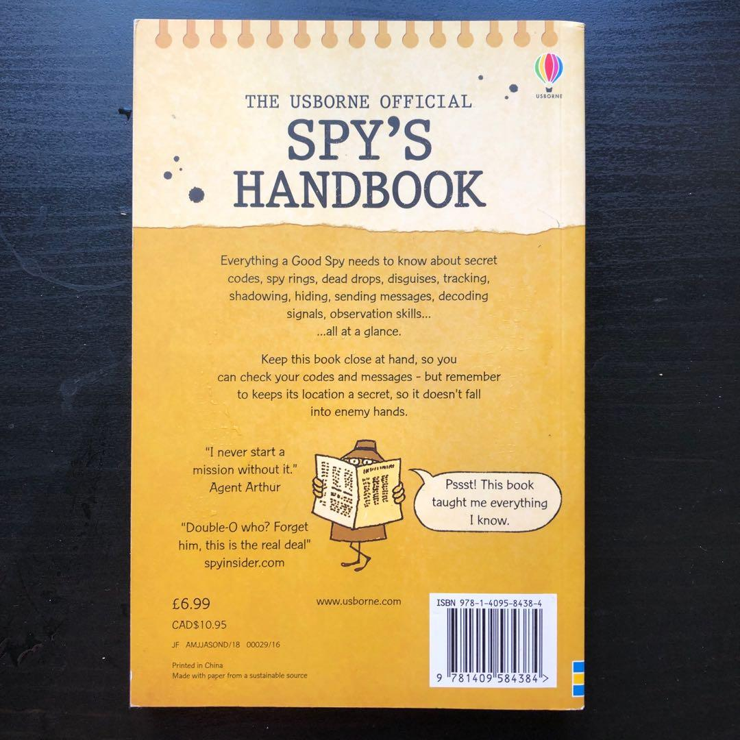 The USborne official spy's handbook