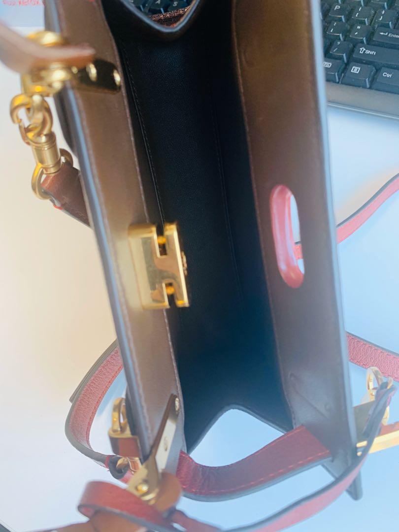 Tory Burch mini cross body 2 ways handbag