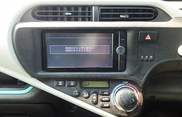 TOYOTA AQUA S-Touring PRIUS C 2012 Blue