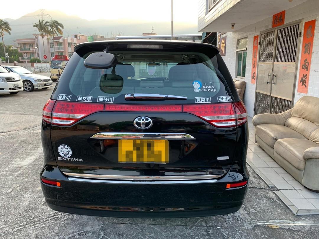 Toyota Previa 2.4 07' 黑色