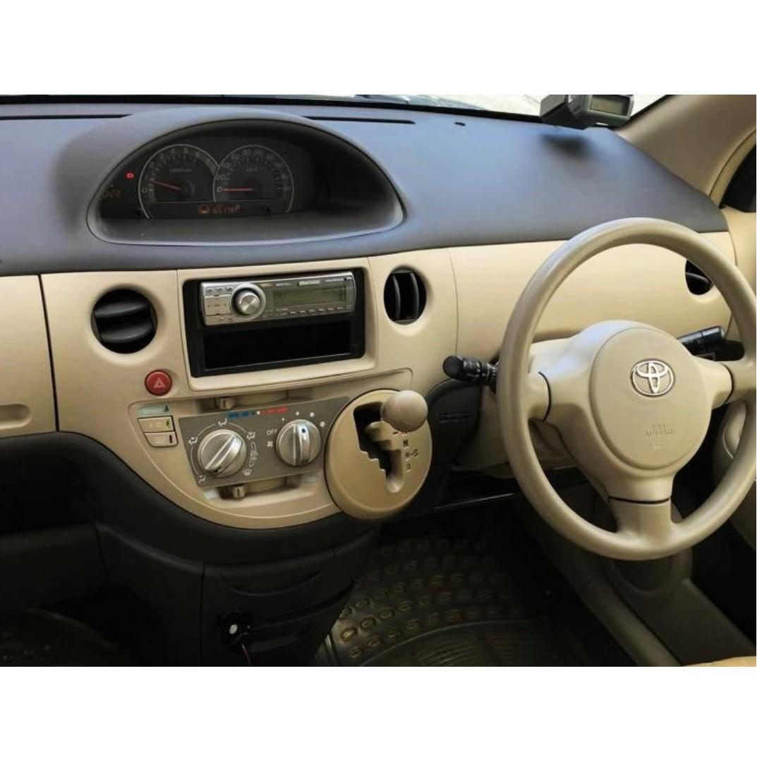TOYOTA SIENTA 1.5A 7S MPV FOR LONG/ SHORT TERM LEASING