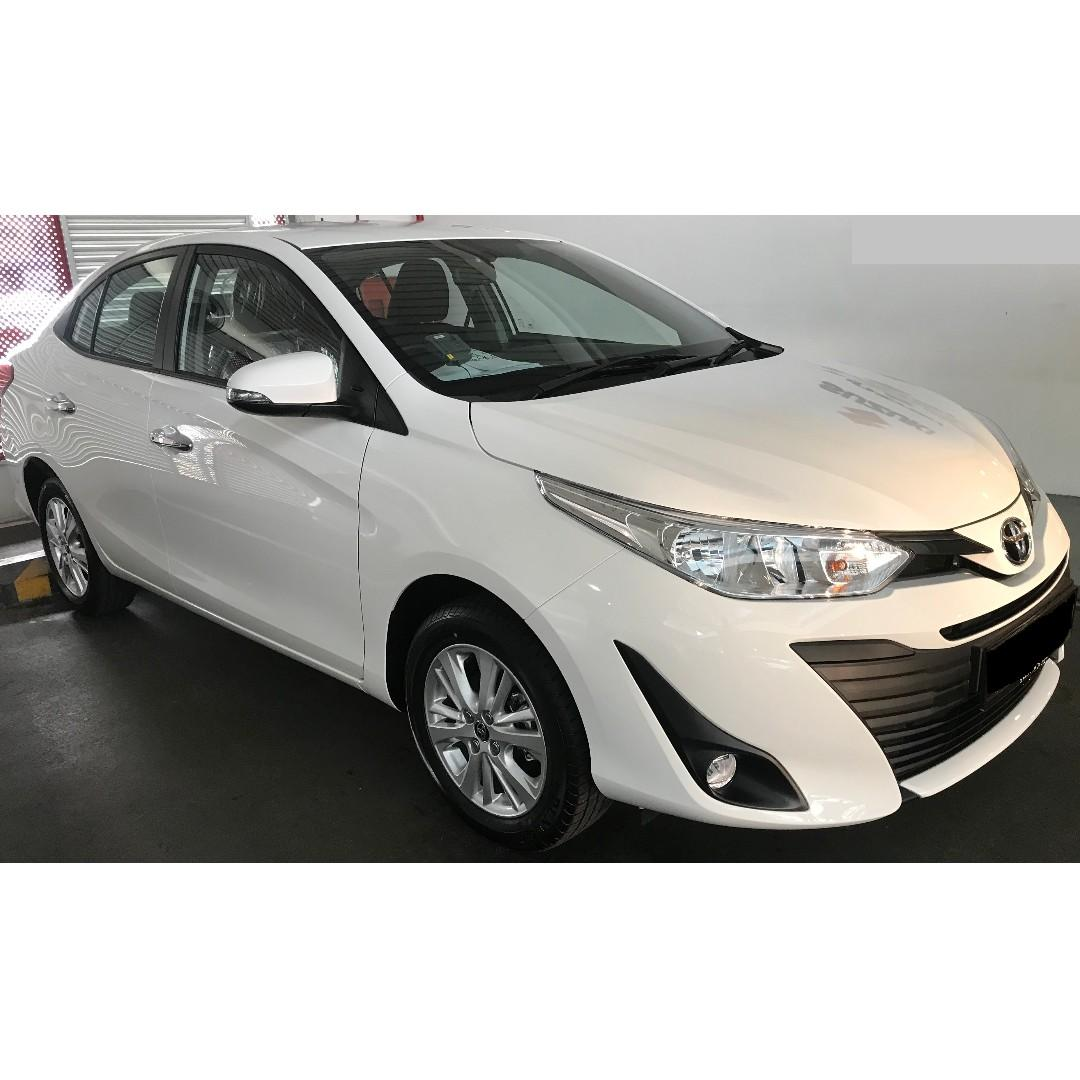 New Toyota Vios 1.5A (2019) with free $3800 petrol.