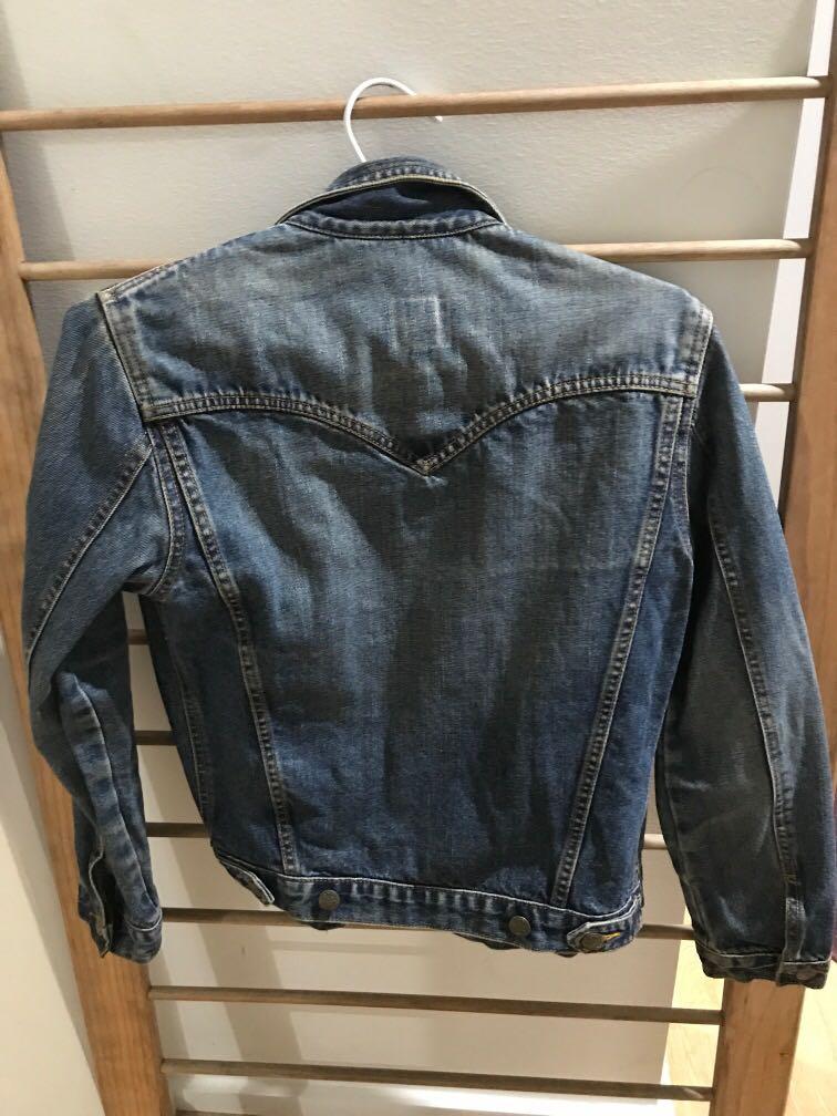 Vintage authentic Lee denim jacket made in Australia